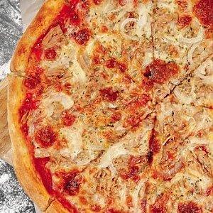 Пицца с тунцом, Кафе ПиццаСуши