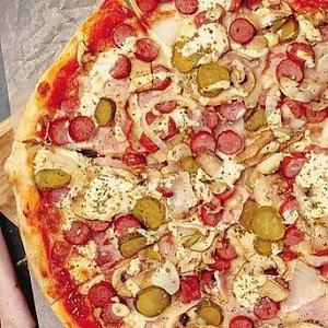 Пицца с сыром фета и помидорами, Кафе ПиццаСуши