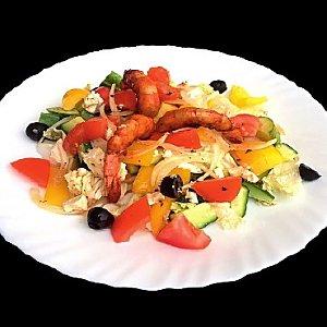 Салат Греческий с креветками, Албена