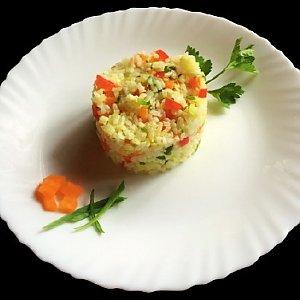 Рис с овощами, Албена