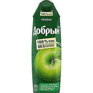 Добрый яблочный сок 1л, Албена