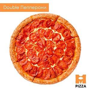 Пицца Double Пепперони 30см, Монстр Пицца