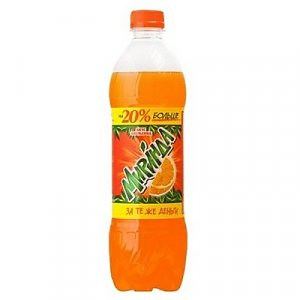 Mirinda 0.6л, Pizza Smile - Минск