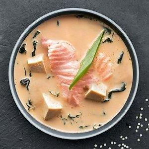 Сливочный мисо суп с лососем, Буфет - Бобруйск