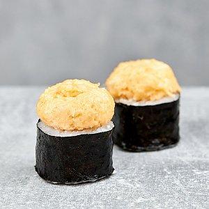 Запеченный мини-ролл с лососем (16шт), Буфет
