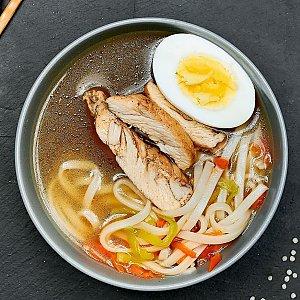 Куриный суп, Буфет