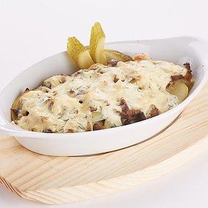Мясная запеканка со сметанным соусом, Pizza Smile - Могилев