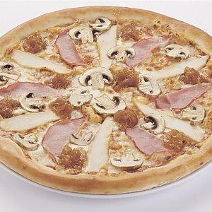"""Пицца """"С ветчиной и грибами"""" детская (26см), Pizza Smile - Могилев"""