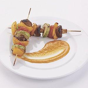 Овощи гриль с соусом барбекю, Pizza Smile - Могилев