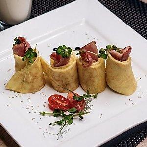 Французский завтрак Омлет с 3 видами сыра, Martin Cafe
