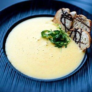Сырный крем-суп, Martin Cafe