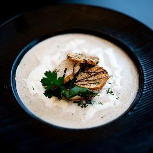 Крем-суп из свежих грибов, Martin Cafe