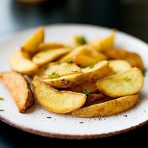 Картофельные дольки с зеленью, Martin Cafe
