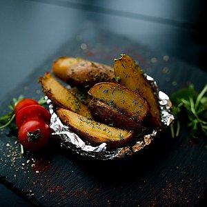 Картофель запеченный в фольге по-белорусски, Martin Cafe
