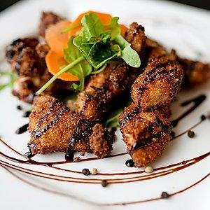 Куриные наггетсы с бальзамическим соусом, Martin Cafe