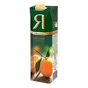 """Сок апельсиновый """"Я"""", Martin Cafe"""