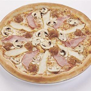 """Пицца """"С ветчиной и грибами"""" большая (32см), Pizza Smile - Лида"""