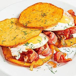Картофан с беконом, Pizza Smile - Брест