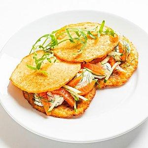 Картофан с семгой, Pizza Smile - Брест