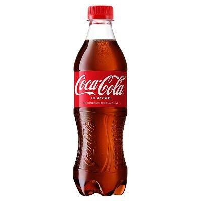 Заказать Coca-Cola 0.5л, BANZAI FOOD