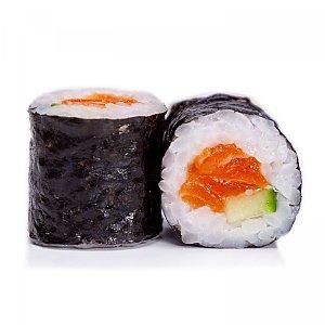 Классика с жареным лососем и огурцом, BANZAI FOOD