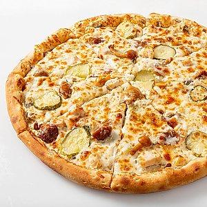 Пицца Жульен с грибами Мега 43см, CAFE GARAGE - Гомель