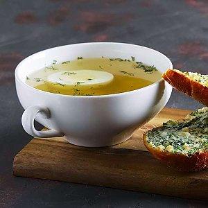 Бульон с чесночным хлебом, CAFE GARAGE - Гомель