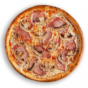 Пицца Ветчина-грибы 24см, КАКТУС