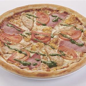"""Пицца """"Куриная с соусом песто"""" детская (26см), Pizza Smile - Светлогорск"""
