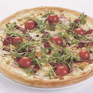 """Пицца """"С вяленой говядиной и грудинкой"""" детская (26см), Pizza Smile - Светлогорск"""