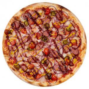 Пицца с копчёными колбасками 31см, Пицца Темпо - Гомель