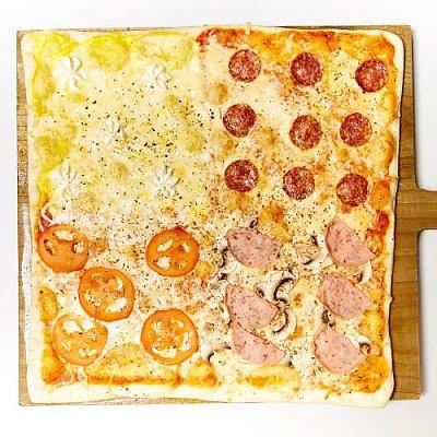 Заказать Пицца Кватро 40см, Сушилка (СУШИ ШОП) - Бобруйск