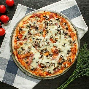 Пицца Прошутто Фунги 40см, МАМИН ПЕКАРЬ