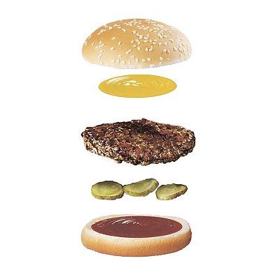 Заказать Гамбургер, Мега Бургер