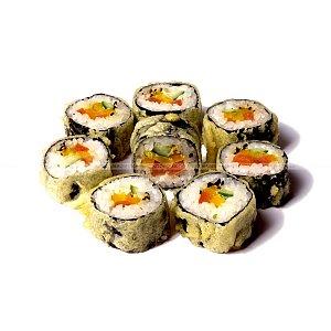 Горячий ролл с овощами, Япончик