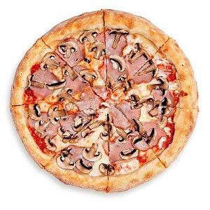 Пицца Ветчина и грибы 32см, PIZZA OK