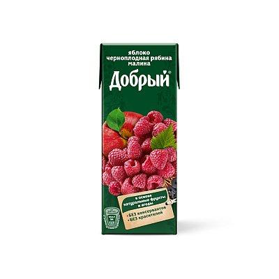 """Заказать Сок яблоко, черноплодная рябина, малина """"Добрый"""" 0.2л, BrestBurger"""