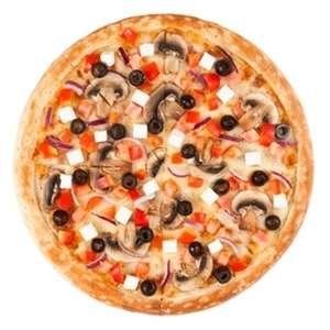Пицца Вегетарианская 30см, РАЗ ДВА ПИЦЦА