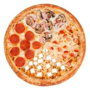 Пицца 4 сезона 40см, РАЗ ДВА ПИЦЦА