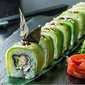 Урамаки Зеленый Дракон, Fusion Food