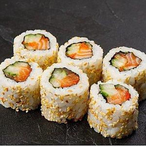 Урамаки Сочный Лосось Мини, Fusion Food