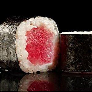 Хосо маки с тунцом, Fusion Food