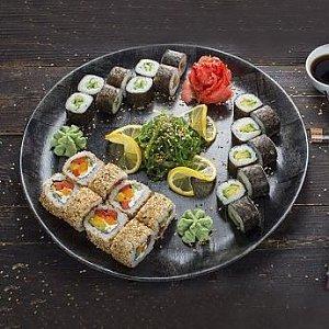 Сет Вегетарианский, Fusion Food