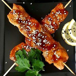 Японский шашлычок Айю, Fusion Food