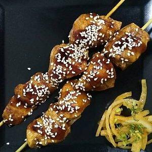 Японский шашлычок Якитори, Fusion Food