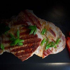 Стейк из свинины, Fusion Food