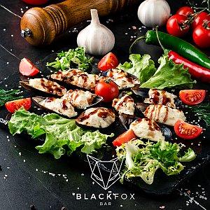 Запеченные мидии, Black Fox Bar - Барановичи