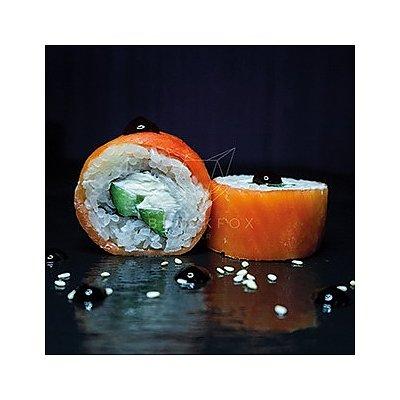 Заказать Филадельфия с лососем (4шт), Black Fox Bar - Барановичи