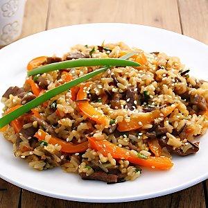 Говядина с овощами в соусе, Black Fox Bar - Барановичи
