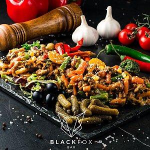 Жареные мидии, Black Fox Bar - Барановичи